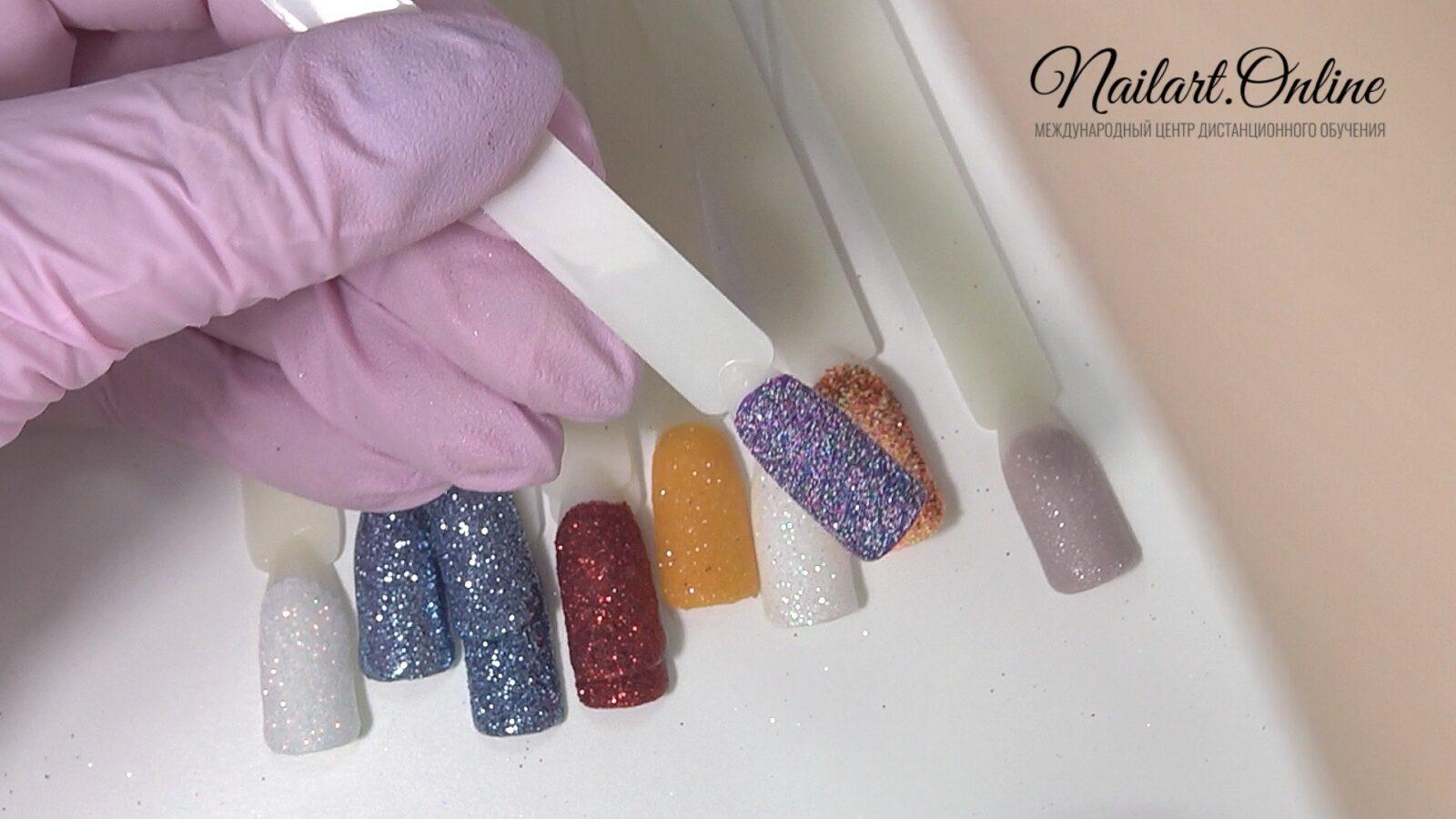дизайн на белые ногти